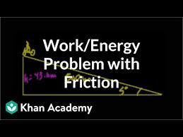 Work/<b>energy</b> problem with friction (video) | Khan Academy