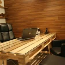 19 diy pallet desks a nice way to save money and to customize your home office abm office desk diy