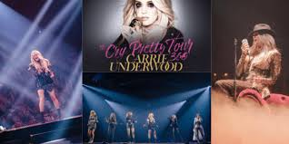 Carrie Underwood Kicks Off