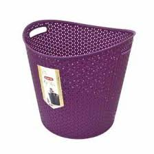 <b>Корзина</b> для белья <b>CURVER круглая</b> 39*39*37см фиолетовый ...