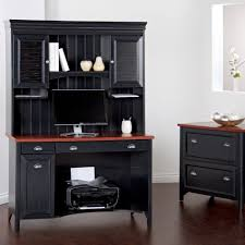 furniture furnishing large size elegant black wooden corner office furniture with file cabinets that casual office cabinets