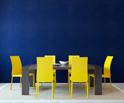 metallic leather wood dining excerpt yellow dining  navy blue dining room with light yellow dining