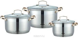 <b>Набор</b> кухонной посуды <b>Bohmann BH</b>-<b>1906</b> (1906BH) – цены и ...