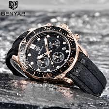 BENYAR 2020 New quartz <b>men's watches Multifunction sport</b> ...