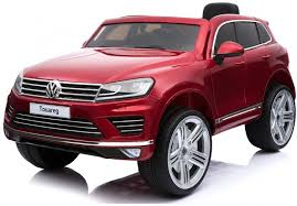 <b>Детский электромобиль Dake VW</b> Touareg Wine Red 12V 2.4G ...