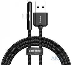 Кабель USB <b>Baseus</b> Lightning <b>Iridescent Lamp</b> Mobile Game 1,5A ...