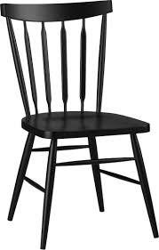 heirlooms windsor dining side chair black
