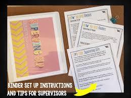 student and supervisor slp organization binders the speech bubble slide2
