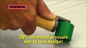 Leister <b>pressure roller</b> - YouTube