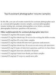 topassistantphotographerresumesamples lva app thumbnail jpg cb