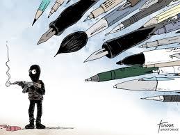 cartoonists draw support for speech shareamerica when speech was attacked it only inspired more speech