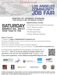 nd annual los angeles community job fair the rightway foundation saturday 25th from 10am to 1pm there will be plenty of opportunities at this huge job fair please register now and prepare for this event to