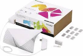 <b>Комплект умных ламп</b> Nanoleaf Aurora Smarter (NL22-0002TW ...