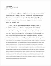 dante s inferno canto v short essay italian 3255w short essay this preview has intentionally blurred sections sign up to view the full version
