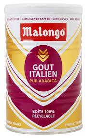 <b>Кофе молотый Malongo</b> Итальянский вкус — купить по выгодной ...