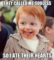 Ginger Baby - WeKnowMemes Generator via Relatably.com