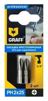 Купить <b>Набор бит GRAFF</b> GBPH0225 по выгодной цене на ...