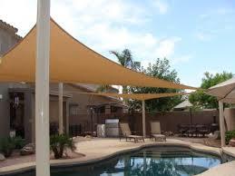 Amazoncom  BIG 20u002639x20u002639x20u002639 Oversized Triangle Garden Patio Sun Sail Shade 20 Ft Color Desert Sand Patio Lawn U0026amp
