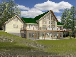 Pebble Creek Lake Home Plan D    House Plans and MoreExquisite Wall of Windows Best Describe This Lake House