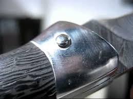 Опыт № 70 <b>нож складной</b> Капрал дамасская <b>сталь</b> - YouTube