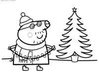 <b>Раскраски</b> из мультика <b>свинка Пеппа</b>. <b>Раскраска Свинка Пеппа</b>