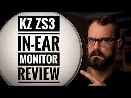 <b>KZ ZS3 In-Ear</b> Review / A drummers perspective : Bearded Drums ...