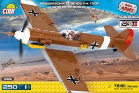 Самолет Messerschmitt Bf 109 F-4 Trop купить ... - Конструктор COBI