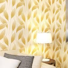 room elegant wallpaper bedroom: hot sale d leaf wallpaper elegant curve wallpapers living room mural papier peint bedroom wall decals papel de parede qz