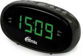 Часы с радио <b>Ritmix</b> RRC-616 Black