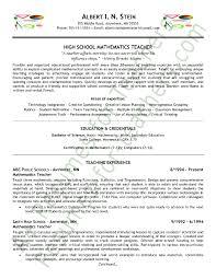 teachers resume example  teacher resume examples  sample teacher    math teacher resume sample