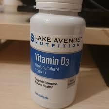 Lake Avenue Nutrition, <b>Витамин D3</b>, 1 000 <b>МЕ</b>, <b>360</b> – купить в ...