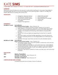 Example Resume  Social Work Resume Templates  career objective and     Binuatan     Example Resume  Sosial Worker With Experience And Education For Social Work Resume Templates  Social