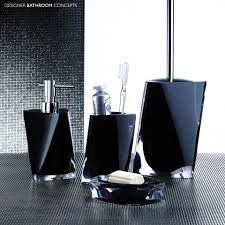 trendy modern bathroom accessories set home