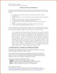 personal vision statements example of a vision statement template personal vision statement best template collection vision statement examples vision statement template