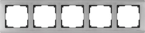 <b>Рамка Werkel Metallic</b> WL02-Frame-05 / <b>Рамка</b> на 5 постов ...