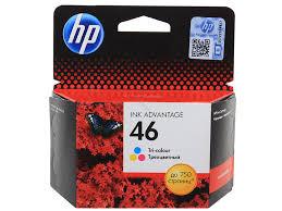 <b>Картридж HP 46</b> цветной купить в интернет-магазине Рупринтерс