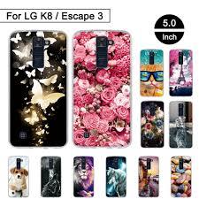 Мягкий ТПУ <b>чехол</b>-накладка для телефона <b>LG K8</b> Lte K350 K350E ...