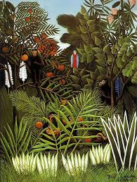 <b>Exotic Landscape</b>, 1908 by <b>Henri Rousseau</b>