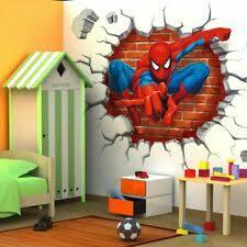 Человек-паук декор <b>наклейки</b> на стену арт - огромный выбор по ...