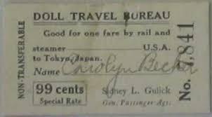 「1927、American Blue-eyed Dolls」の画像検索結果