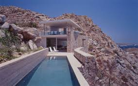 Stone Home Designs   Modern House Designs   Page Contemporary Beach Home   concrete and stone