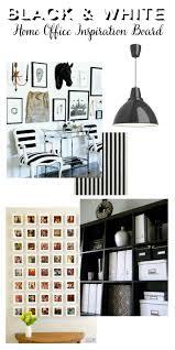 black white home office inspiration black white home office inspiration
