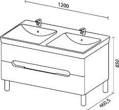 <b>Тумба</b> с раковиной Sanvit Форма <b>120 белый глянец</b> - купить в ...