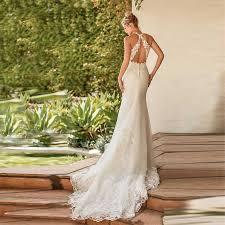 <b>Verngo</b> Quality <b>Mermaid</b> Wedding Dress Boho 2020 Lace <b>Appliques</b> ...