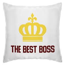 """Подушка """"The best boss with crown"""" #2719875 от Михаил Илюхин ..."""