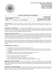 surgical tech resumesample tech resume