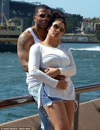 Loved up  Nelly only had eyes for his girlfriend Shantel Jackson as they enjoyed the Daily Mail