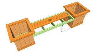 cedar planter bench plans cedar bench plans