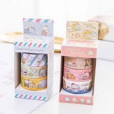 <b>4pcs</b>/Lot Sumikko gurashi paper <b>sticker</b> Cute bear penguin cat ...