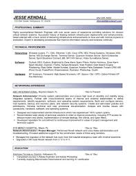 business systems administrator resume  truwork coadministrator resume